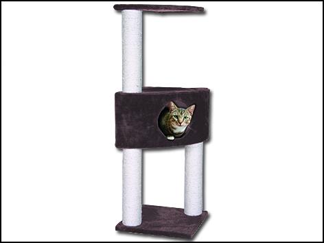 Odpočívadlo MAGIC CAT Irena hnědé 109 cm 1ks