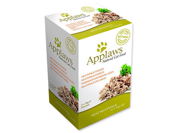 Kapsičky APPLAWS Cat Chicken Meat in Jelly multipack 250g