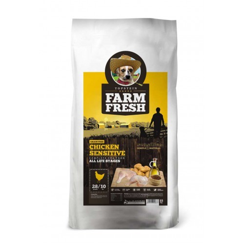 FARM FRESH CHICKEN SENSITIVE GRAIN FREE 15kg