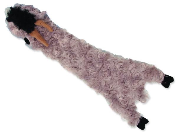 Hračka DOG FANTASY Skinneeez šustící koza 1ks