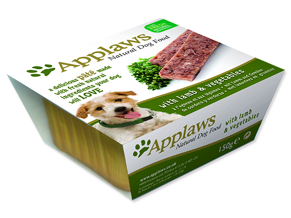 Paštika APPLAWS Dog Pate with Lamb & Vegetables 150g
