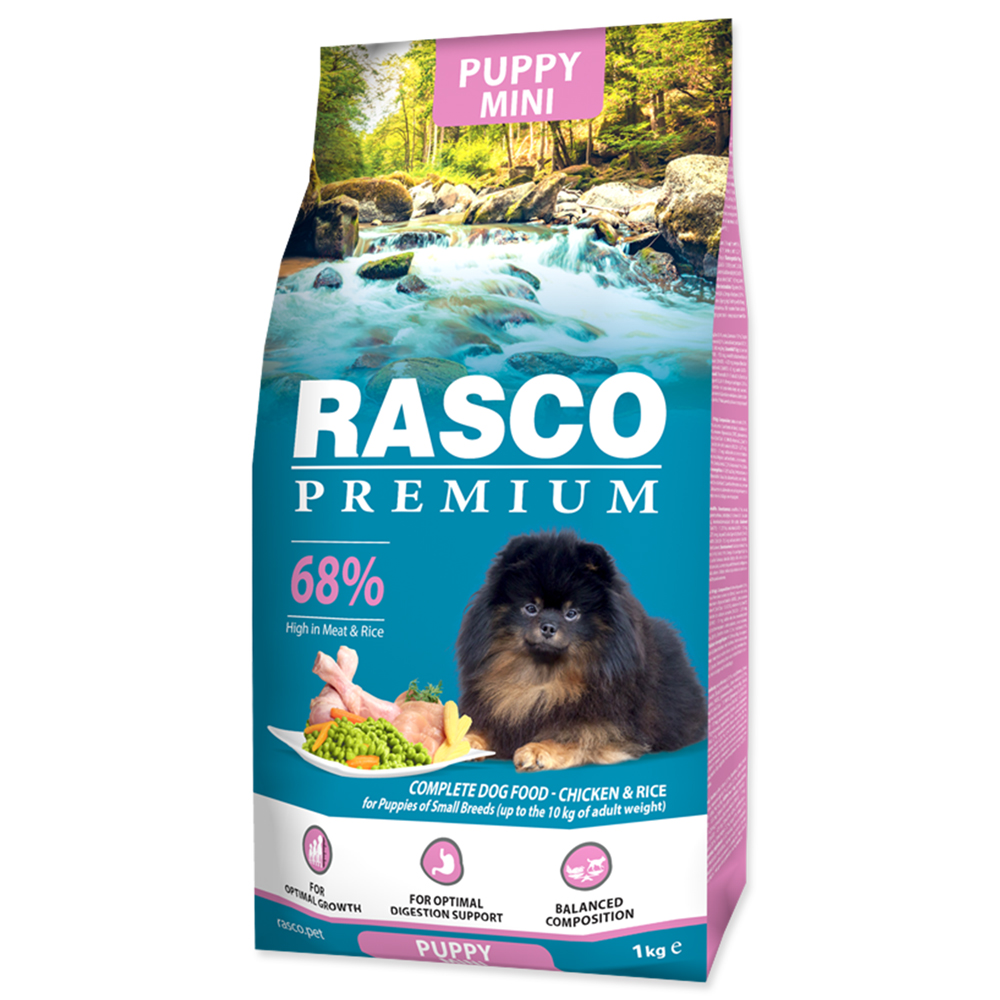 RASCO Premium Puppy / Junior Small 1kg