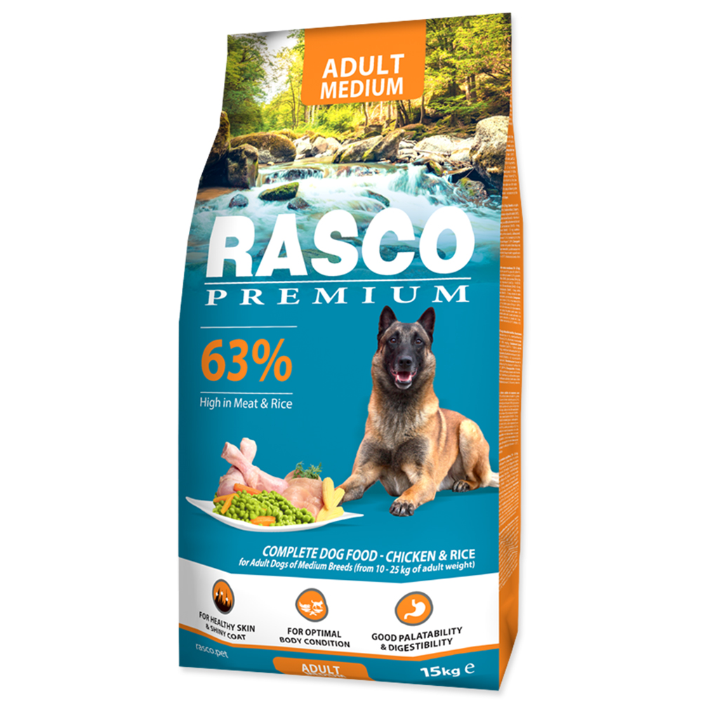 RASCO Premium Adult Medium 15kg