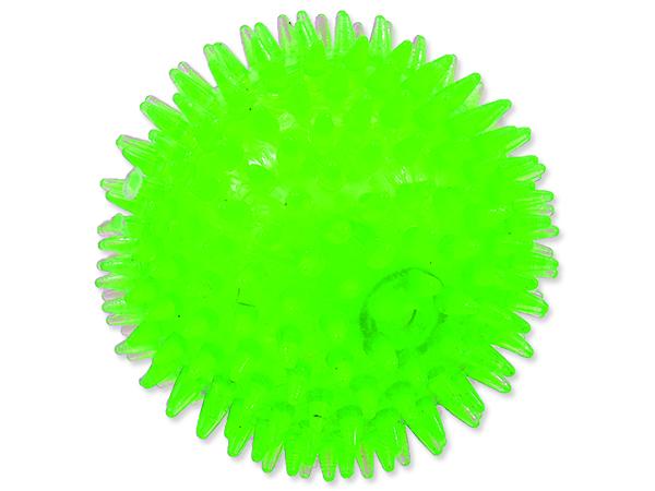 Hračka DOG FANTASY míček pískací zelený 10 cm 1ks