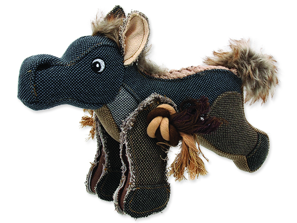 Hračka DOG FANTASY textilní kůň 33 cm 1ks