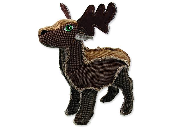 Hračka DOG FANTASY textilní jelen 25 cm 1ks