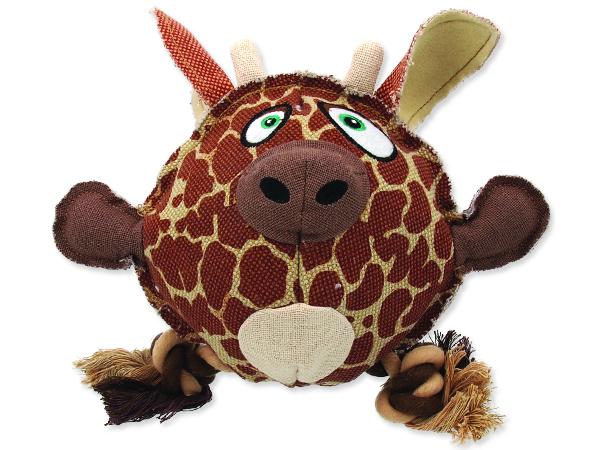 Hračka DOG FANTASY textilní žirafa 24 cm 1ks