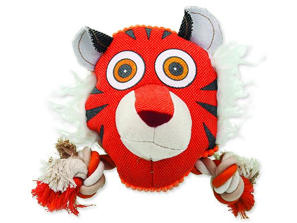 Hračka DOG FANTASY textilní tygr 1ks