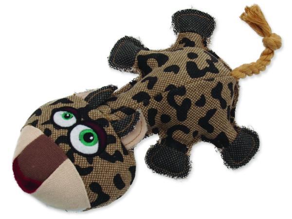 Hračka DOG FANTASY textilní leopard 32 cm 1ks
