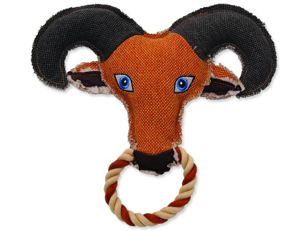 Hračka DOG FANTASY textilní koza 1ks