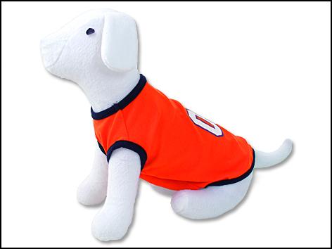 Triko DOG FANTASY Sport 01 oranžové S-M 1ks