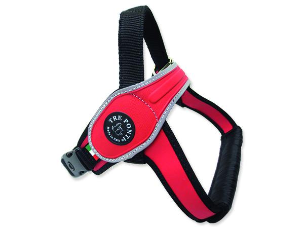 Postroj TRE PONTI reflexní od 30 do 40 kg červený 1ks
