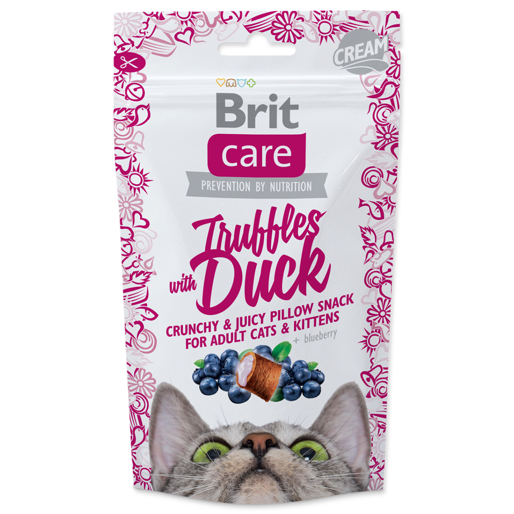 Brit Care Cat Snack Truffles Duck 50 g