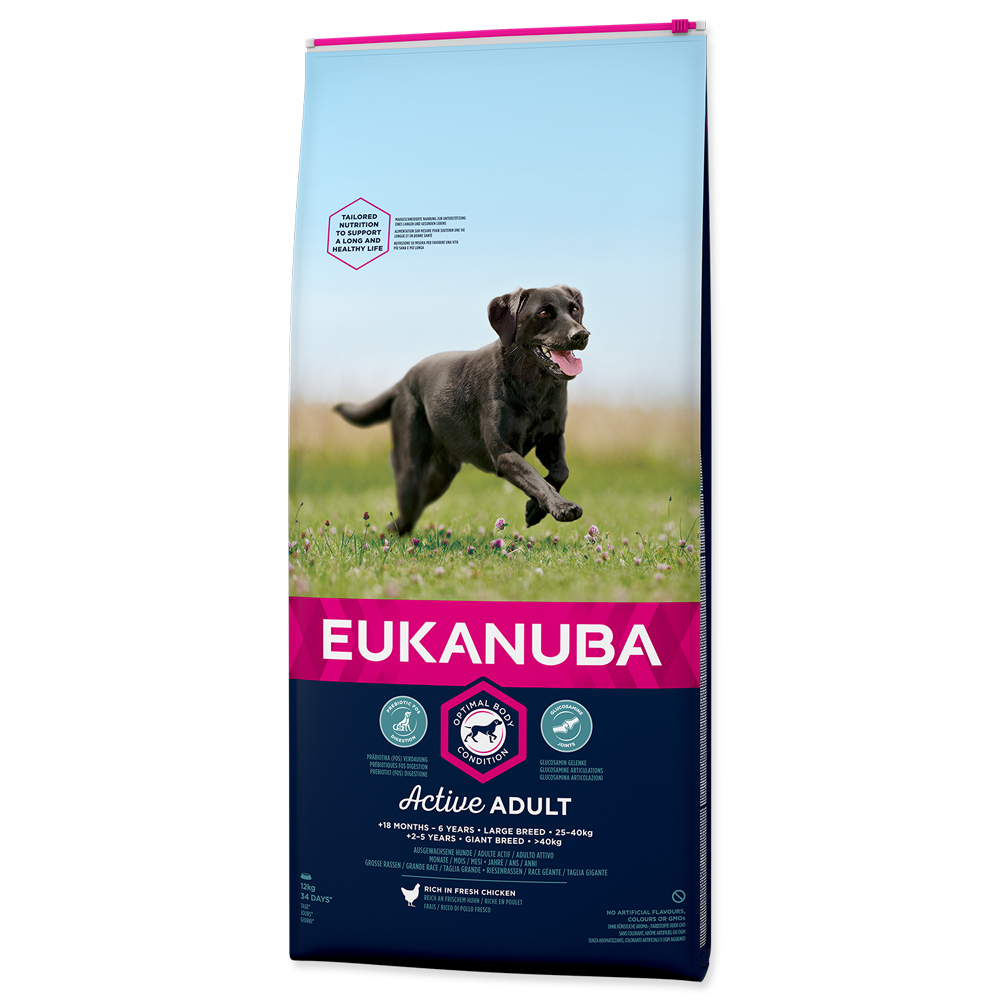 EUKANUBA Dog Adult Large Chicken 12kg