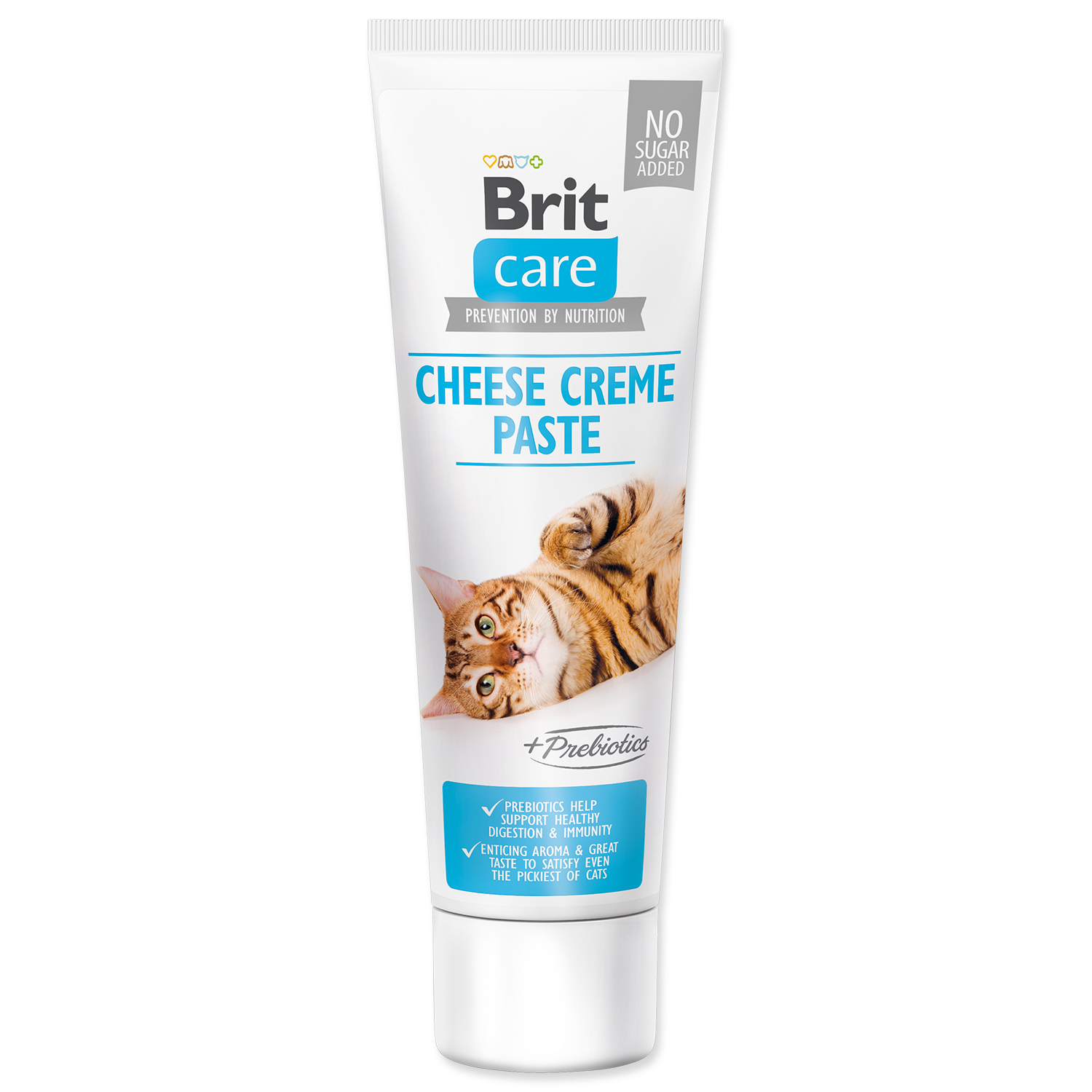 BRIT Care Cat Paste Cheese Creme enriched with Prebiotics 100g