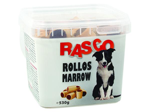 Sušenky RASCO Dog rollos morkový malý 530g