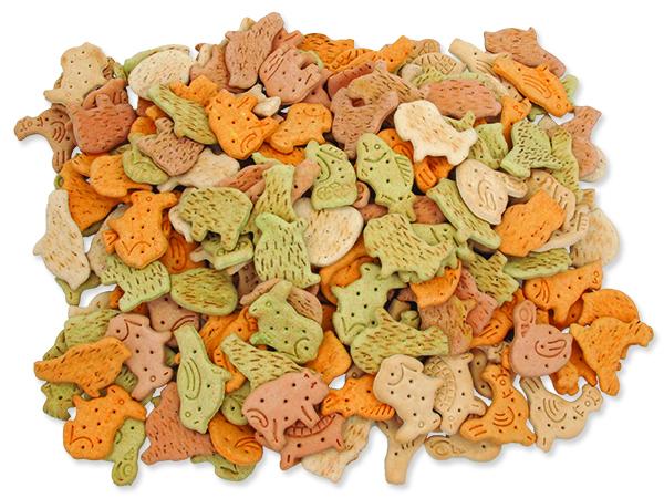 Sušenky RASCO Dog zvířátka mix 10kg