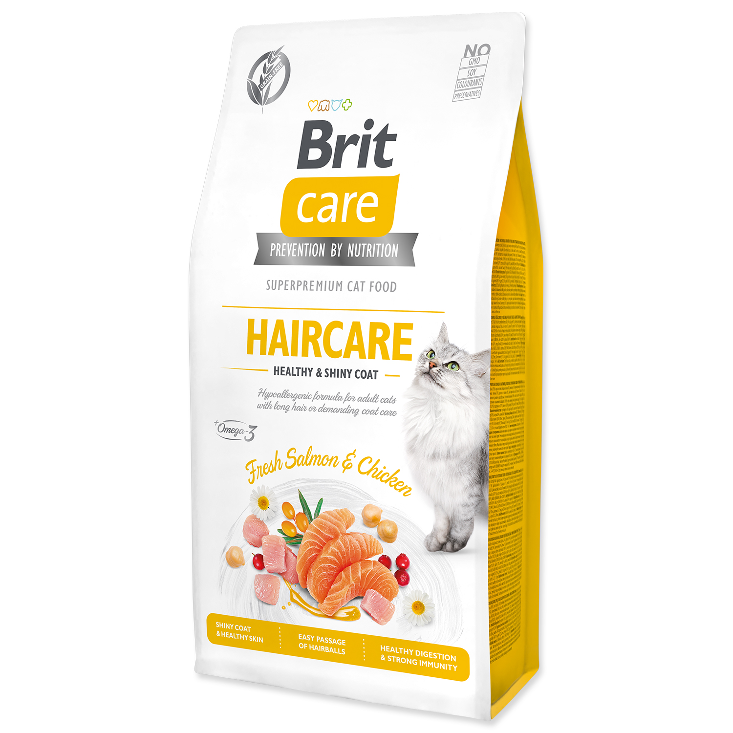 BRIT Care Cat Grain-Free Haircare Healthy & Shiny Coat 0,4kg
