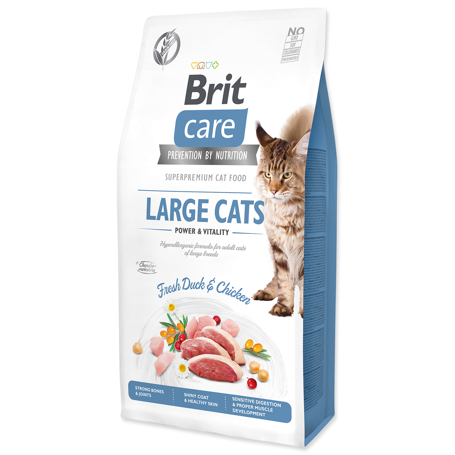 BRIT Care Cat Grain-Free Large cats Power & Vitality 0,4kg