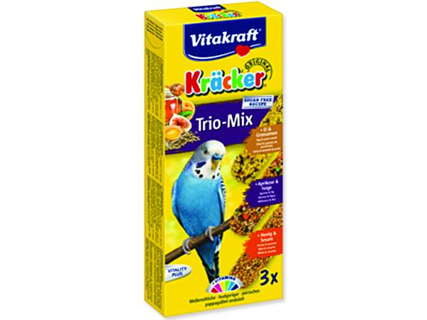 Kracker VITAKRAFT Sittich Honey + Egg + Fruit3ks