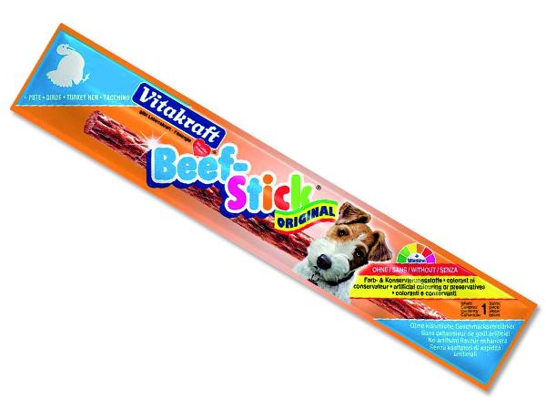 Beef Stick VITAKRAFT Turkey 1ks
