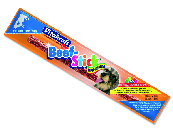 Beef Stick VITAKRAFT Heart 1ks