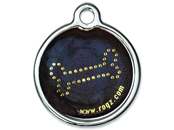 Známka ROGZ Metal Bronze Bone kovová L 1ks