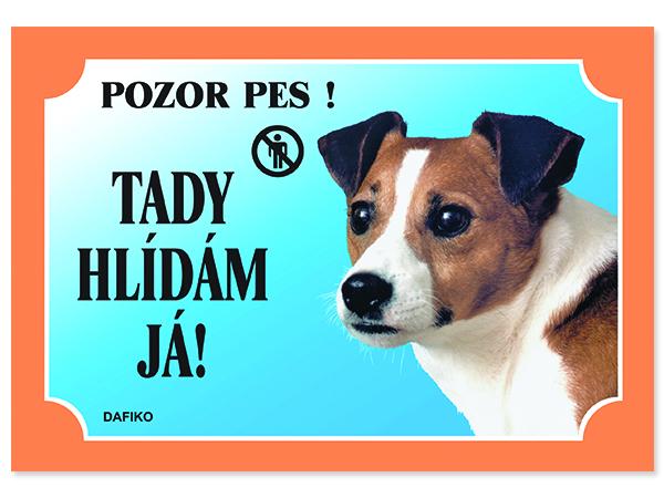 Tabulka DAFIKO jack russel terier 1ks