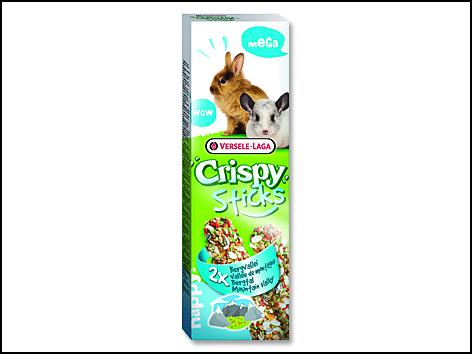 Tyčinky VERSELE-LAGA Crispy Mega s bylinami pro králíky a činčily 140g