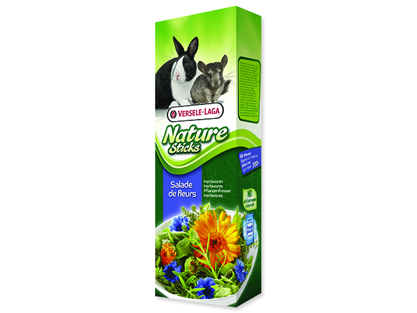 Tyčinky VERSELE-LAGA Nature květinový salát 80g
