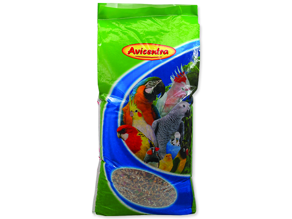 AVICENTRA standart pro velké papoušky 25kg