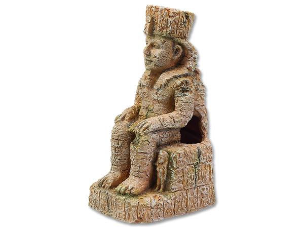 Dekorace AQUA EXCELLENT egyptská socha 10,3 cm 1ks