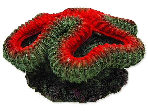 Dekorace AQUA EXCELLENT mořský korál červenobílý 1ks