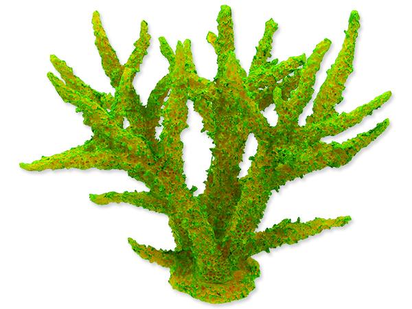 Dekorace AQUA EXCELLENT mořský korál měkký zelený 1ks
