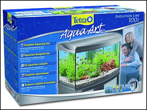 Akvárium set TETRA AquaArt LED Evolution 100l POUZE OSOBNÍ ODBĚR