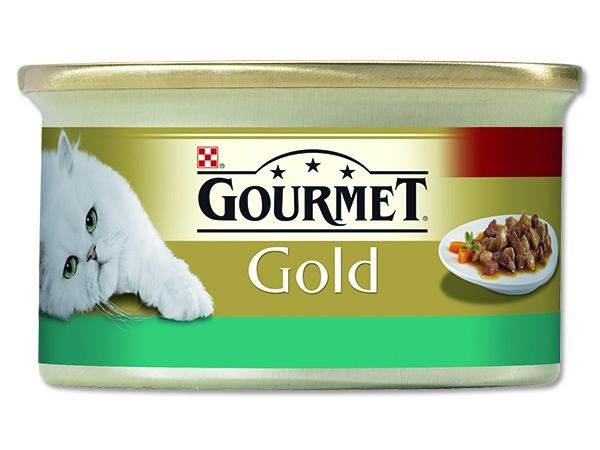 Konzerva GOURMET Gold losos a kuře 85g