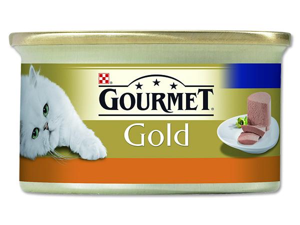 Konzerva GOURMET Gold krůta 85g