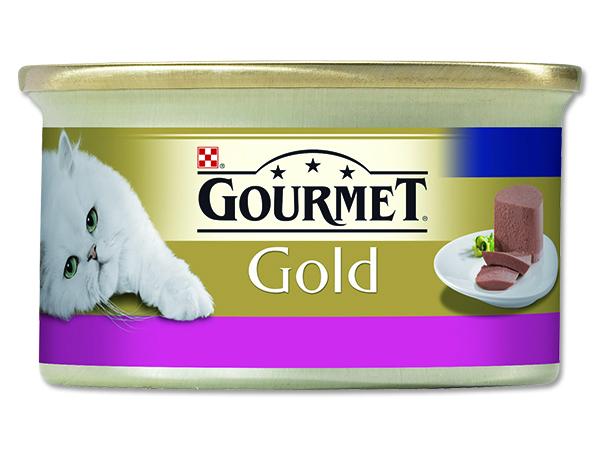 Konzerva GOURMET Gold hovězí 85g