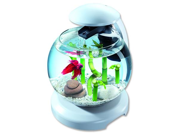 Akvárium set TETRA Cascade LED bílé 6,8l POUZE OSOBNÍ ODBĚR