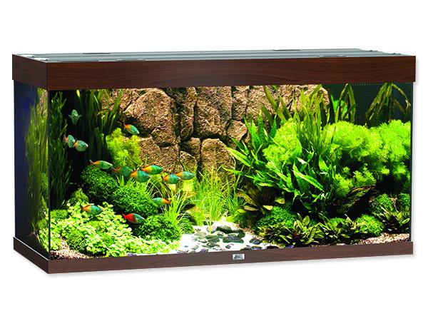 Akvárium set JUWEL Rio 300 tmavě hnědé 350l POUZE OSOBNÍ ODBĚR