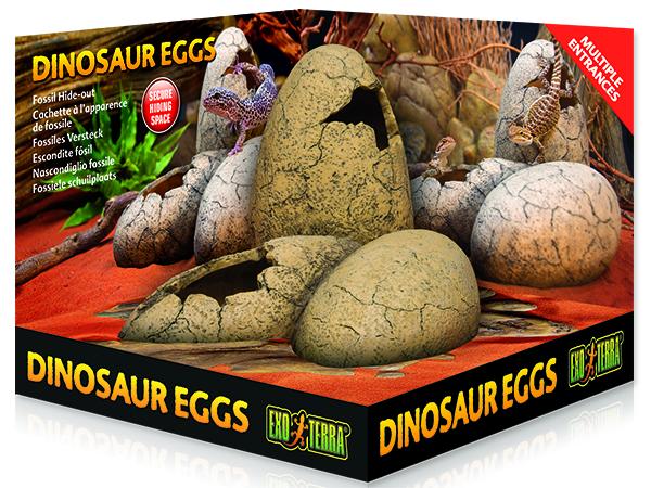 Dekorace EXO TERRA Dinosaur eggs 1ks
