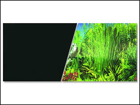 Pozadí MARINA tapeta do akvárií oboustranné rostliny / černé 760 x 45 cm 7,6m