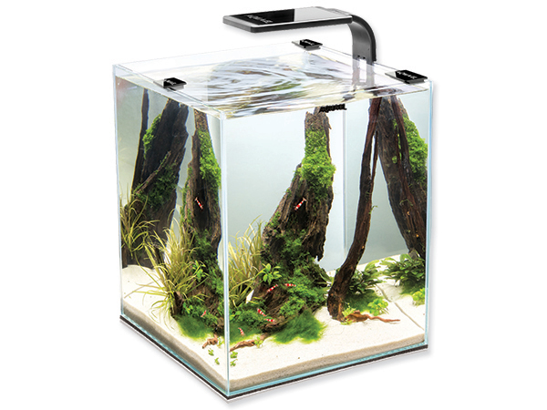 Akvárium set AQUAEL Shrimp Smart 2 černé 10l POUZE OSOBNÍ ODBĚR