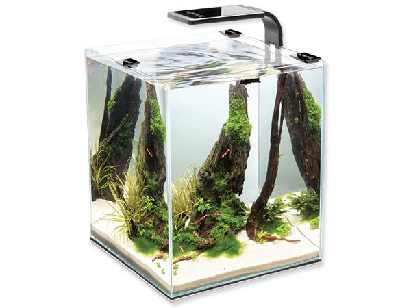 Akvárium set AQUAEL Shrimp Smart 2 černé 19l POUZE OSOBNÍ ODBĚR