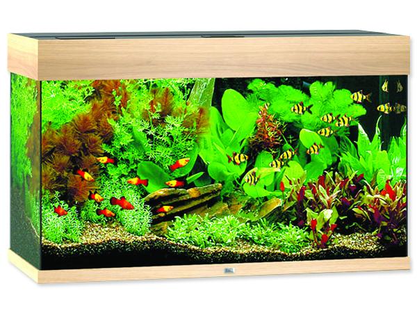 Akvárium set JUWEL Rio LED 125 dub 125l POUZE OSOBNÍ ODBĚR