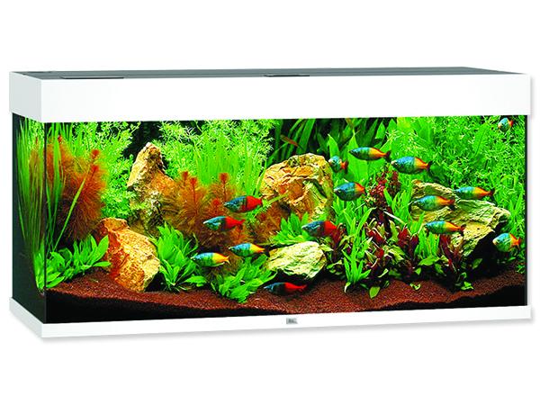 Akvárium set JUWEL Rio LED 180 bílé 180l POUZE OSOBNÍ ODBĚR