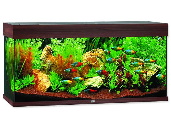 Akvárium set Juwel Rio LED 180 tmavě hnědé 180l POUZE OSOBNÍ ODBĚR