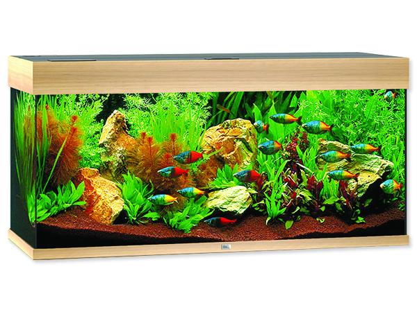Akvárium set Juwel Rio LED 180 dub 180l POUZE OSOBNÍ ODBĚR