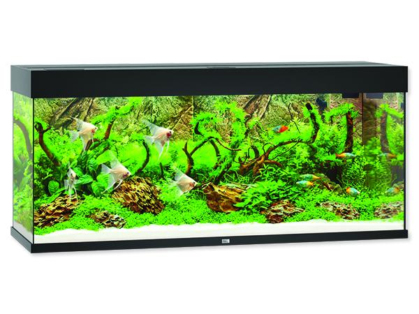 Akvárium set Juwel Rio LED 240 černé 240l POUZE OSOBNÍ ODBĚR