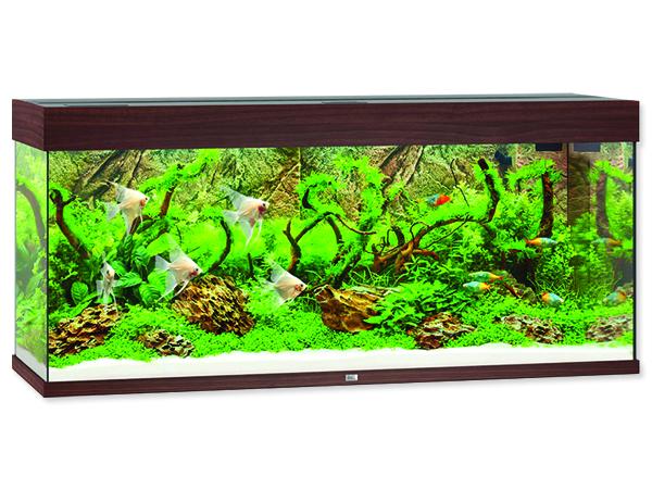 Akvárium set Juwel Rio LED 240 tmavě hnědé 240l POUZE OSOBNÍ ODBĚR